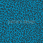 Simple Leopard Vector Ornament