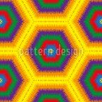 Cobertor de Lã Avós Design de padrão vetorial sem costura