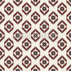 Eastern European Ornaments Seamless Vector Pattern Design