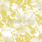 Apple Blossoms Repeating Pattern