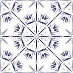 タイル張りの装飾 シームレスなベクトルパターン設計