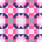 Abstract Cuboid Repeat Pattern