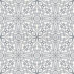 Arabesques Of Ice Pattern Design