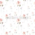 Rosen Ausschnitt Vektor Ornament
