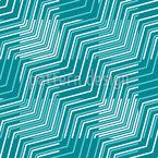 Psychedelische Linien Nahtloses Vektormuster