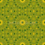 Brasilianische Sonne Rapportiertes Design