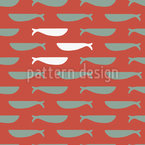 Against The Current Seamless Vector Pattern Design