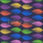 抽象的なヤシの葉 シームレスなベクトルパターン設計