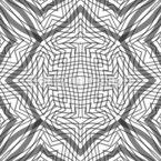 Linierter Rhythmus Nahtloses Vektormuster