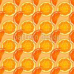 Summer OJ Seamless Vector Pattern Design