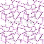 Coutures et boutons Motif Vectoriel Sans Couture