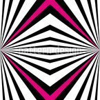 Psychedelic Perspective Seamless Vector Pattern Design