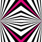 Psychedelische Perspektive Vektor Muster