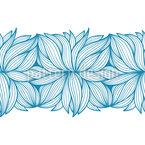 Anémone abstraite Motif Vectoriel Sans Couture