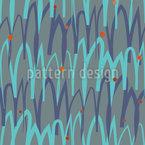 Wellenförmig Gelockter NordEN Designmuster