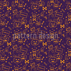 The Miracle Of Halloween Pattern Design