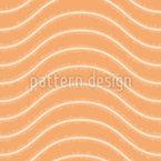 Wellenförmige Grunge Linien Designmuster