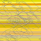 Canary Song Seamless Vector Pattern Design