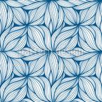 Anomènes ondulés Motif Vectoriel Sans Couture