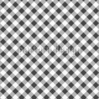 Motif Checker monochrome Motif Vectoriel Sans Couture