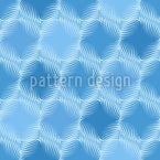 Symmetrical Round Spiral Repeating Pattern