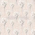 Abstrakte Rose Designmuster