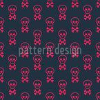 Halloween Skulls Pattern Design