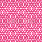 Mädchenhafter Blumentraum Musterdesign