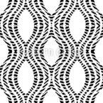 Shibori-Linien Nahtloses Vektormuster