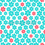 Scattered Camomiles Repeating Pattern