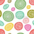 Blossoms In Bubbles Design Pattern