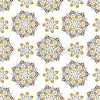 Schneiende Mandalas Vektor Muster
