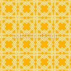 Cerca Tradicional do Islã Design de padrão vetorial sem costura