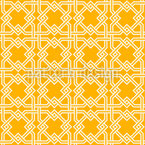 Traditioneller Islam-Zaun Designmuster