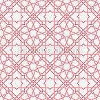 Traditioneller Islamischer Stern Nahtloses Muster
