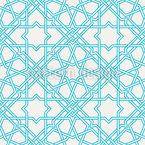 Traditionelles Orientgitter Nahtloses Vektor Muster