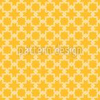 Malha Cruzada Tradicional Design de padrão vetorial sem costura