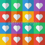Flat Icon Heart Repeat