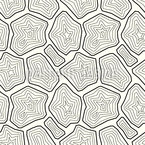 Stylised Minerals Seamless Pattern
