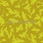 Autumnal Leaf Repeat Pattern