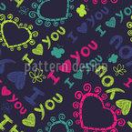 Teenage Love Vector Design