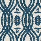 Onda Etno Abstrato Design de padrão vetorial sem costura