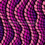 シェイプと波 シームレスなベクトルパターン設計