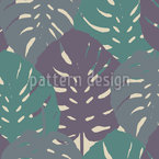 Tender Monstera Leaves Design Pattern
