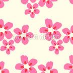 Kirschblüten-Liebe Nahtloses Vektormuster