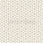 Goldene Geometrie Nahtloses Vektormuster