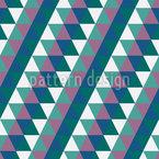 Diagonales Dreieck Rapportiertes Design