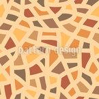 Piedra Mediterránea Estampado Vectorial Sin Costura