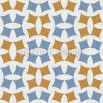 Cerâmica étnica Design de padrão vetorial sem costura