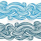 Gewellte Linien Nahtloses Vektor Muster